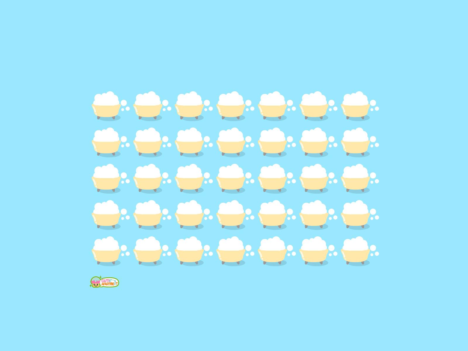プリント お名前プリント : デスクトップ素材 壁紙 ‐Cutie ...